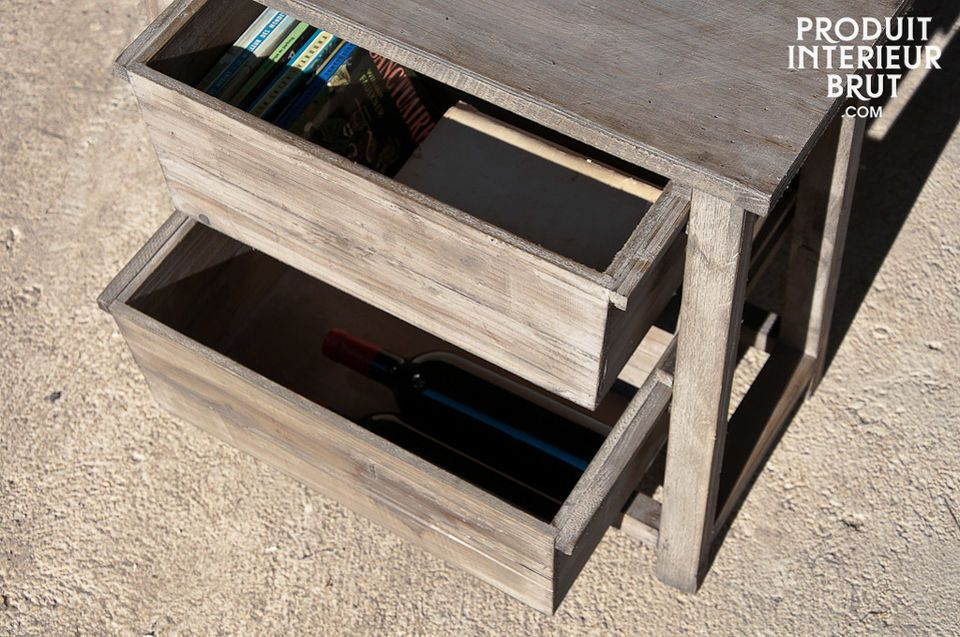 Small storage uniti with plenty of charm
