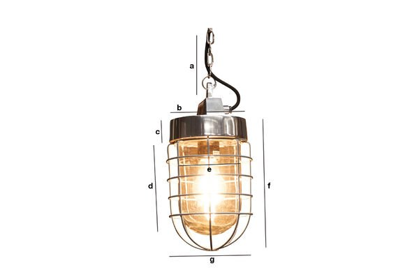 Product Dimensions Prestine hanging light