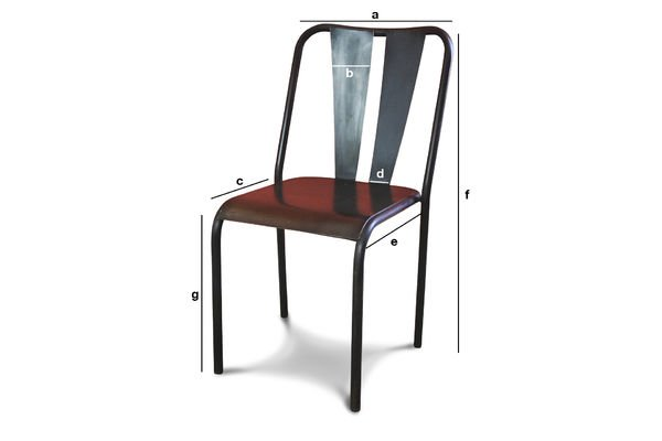 Product Dimensions Propriano chair