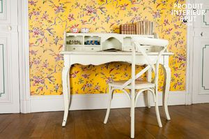 Prunelle writing desk with drawers