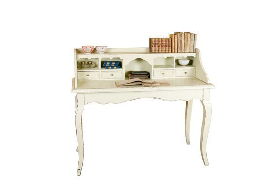 Prunelle writing desk with drawers Clipped