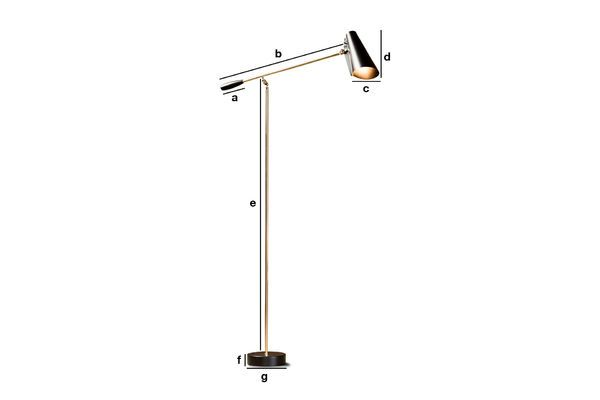 Product Dimensions Reading lamp Birdy