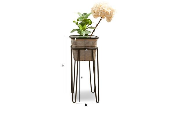 Product Dimensions Rebstock Plant Stand
