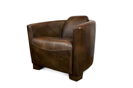 Red Baron leather armchair Clipped