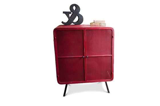 Red Minoterie Cabinet Clipped