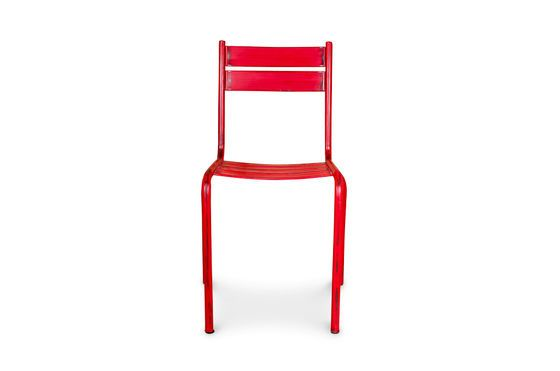 Red Pretty chair Clipped