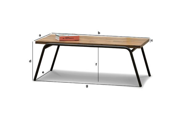 Product Dimensions Regular coffee table