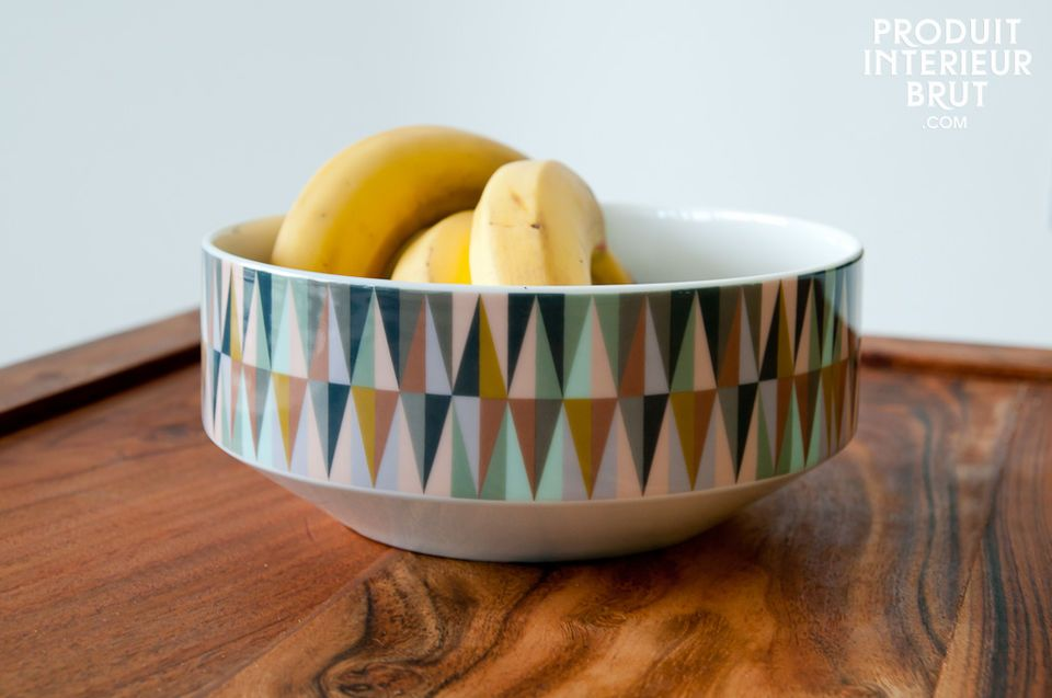 Remix porcelain bowl