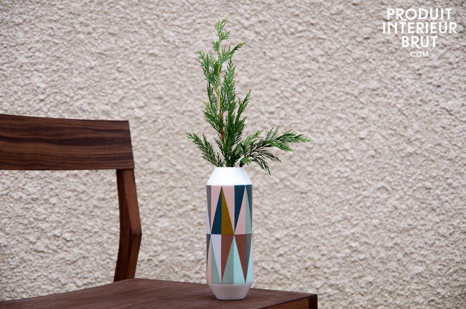 Remix porcelain vase