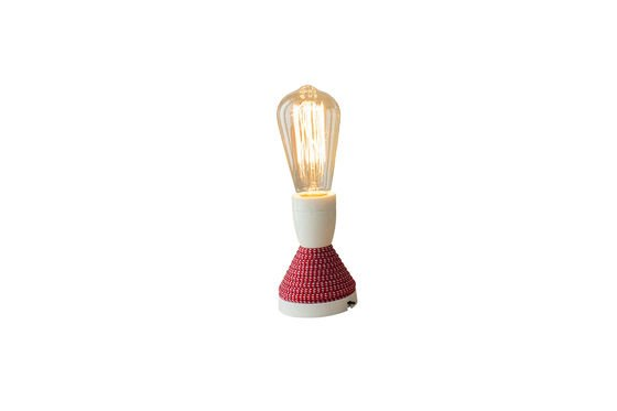 Retro lightbulb with long filament Clipped