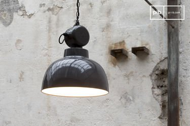 Retronom industrial hanging light
