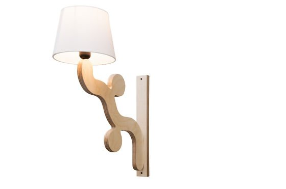 Rholl wall lamp Clipped