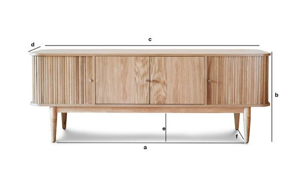 Product Dimensions Ritz Curtain TV console
