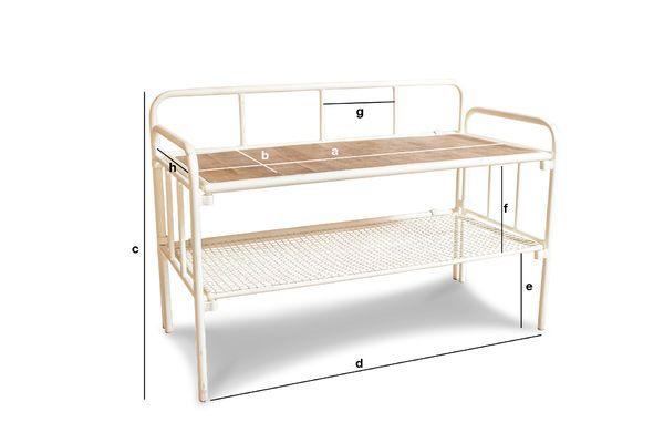 Product Dimensions Rögen entrance bench