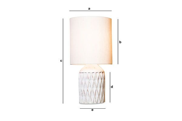 Product Dimensions Romeo desk Lamp