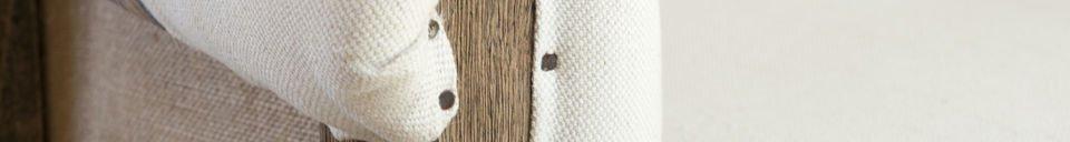 Material Details Round armchair Léonie