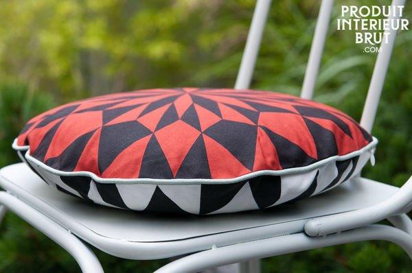 round red cushion