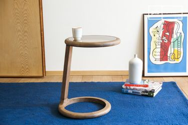 Round sofa side table Donhill