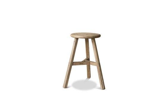 Round stool Vizzavona Clipped