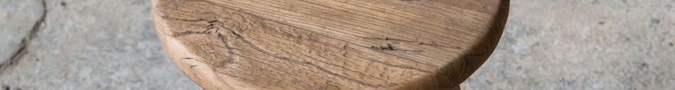 Material Details Round stool Vizzavona