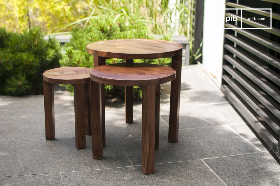 Roza 3-piece nesting table