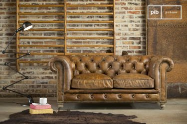Saint Paul Chesterfield Sofa
