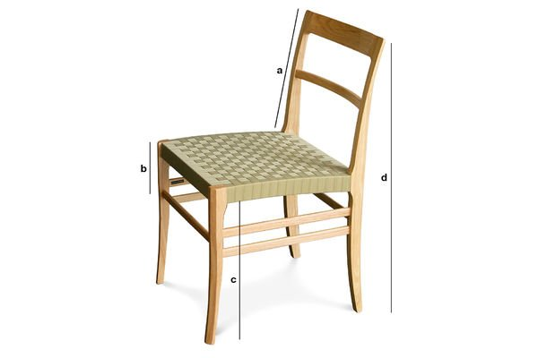 Product Dimensions Samoht chair