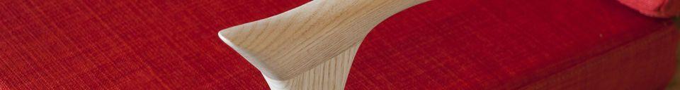 Material Details Scandinavian armchair Aarhus