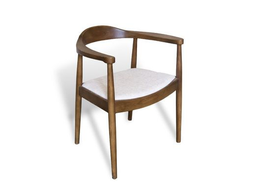 Scandinavian Armchair Johannes Clipped