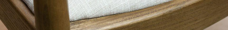 Material Details Scandinavian Armchair Johannes