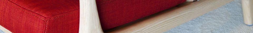 Material Details Scandinavian bench Aarhus