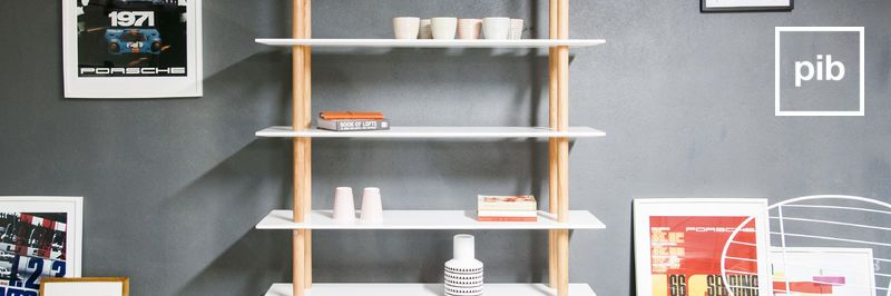 Scandinavian bookcases back soon in collection