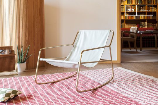 Scandinavian rocking chair Lund