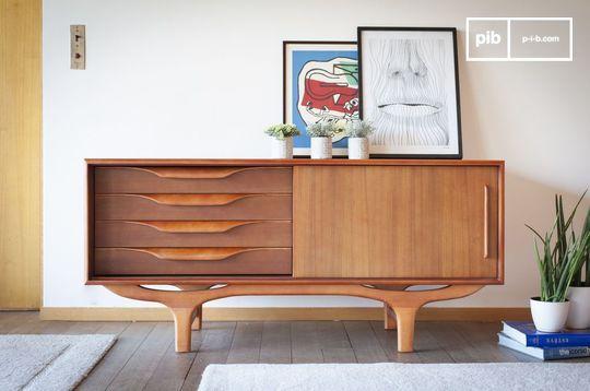 Scandinavian wooden Buffet Alrik