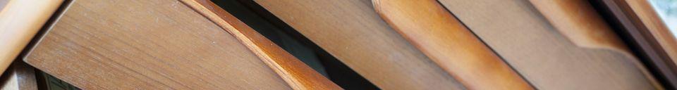 Material Details Scandinavian wooden Buffet Alrik