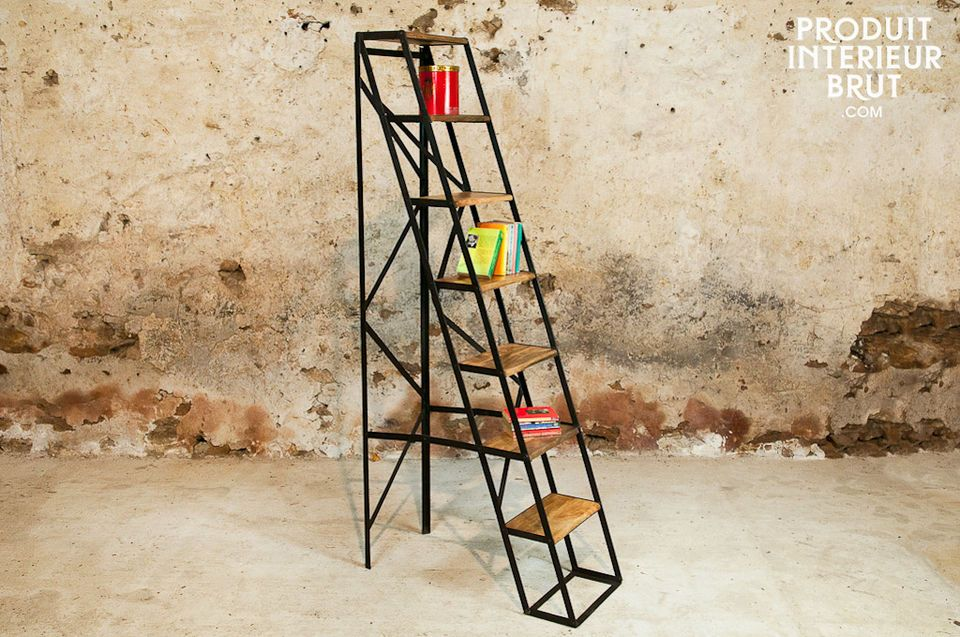 Seven-tread workshop step ladder