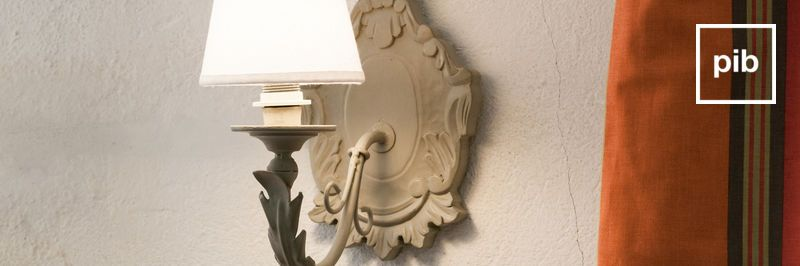 Shabby chic rustic wall lights back soon in collection