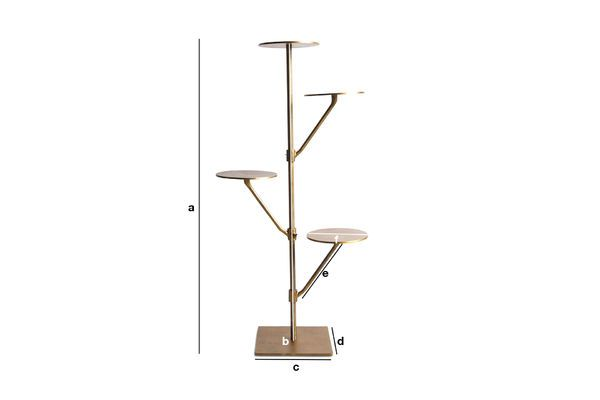 Product Dimensions Shakti Stand