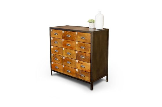 Shawinigan Wooden chest of drawers Clipped