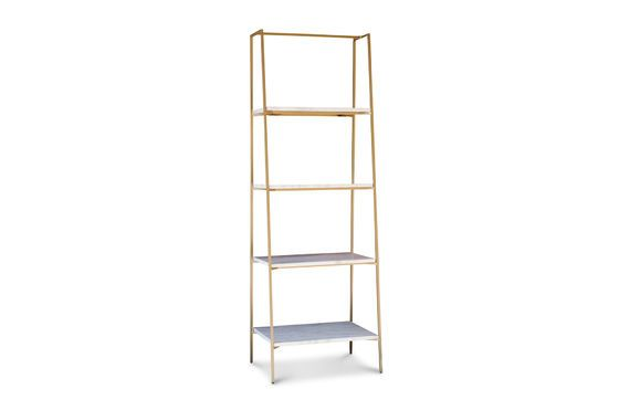 Shelf with four levels Bylille Clipped