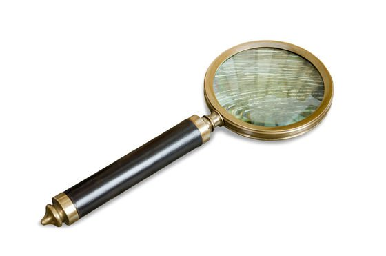 Sherlock magnifying glass Clipped