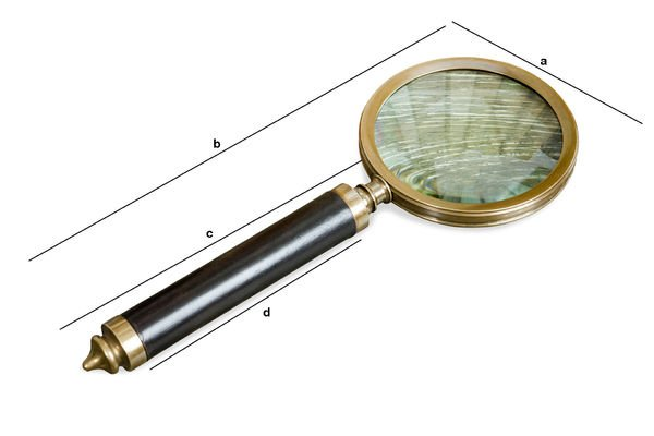Product Dimensions Sherlock magnifying glass