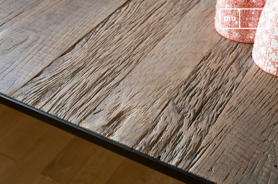 Elegant and sturdy, the Sherman dining table has survived decades without a hitch