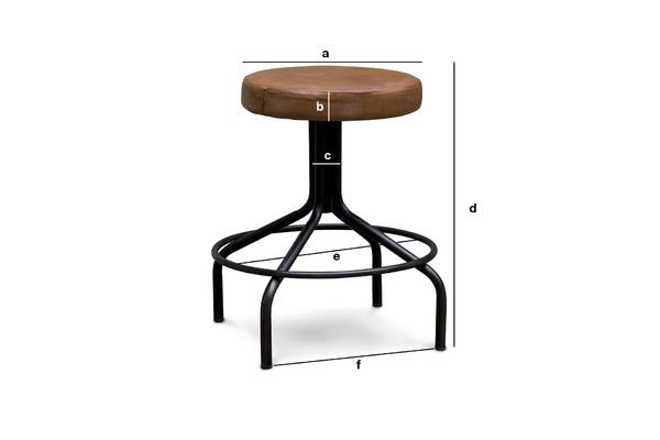Product Dimensions Shoemaker stool