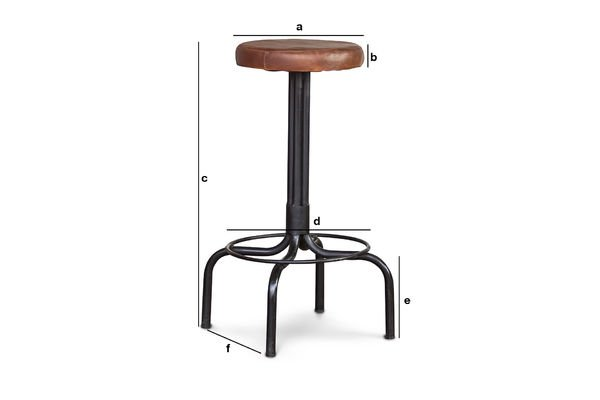 Product Dimensions Shoemaker's high stool