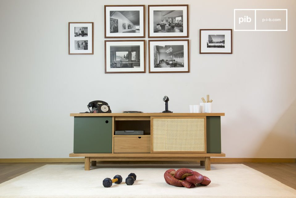 Ideal as a TV stand or for storing dishes