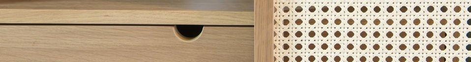 Material Details Sideboard Tammea made out of oak wood