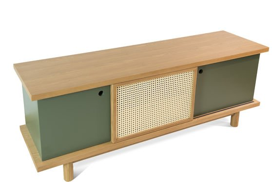Sideboard Tammea made out of oak wood Clipped