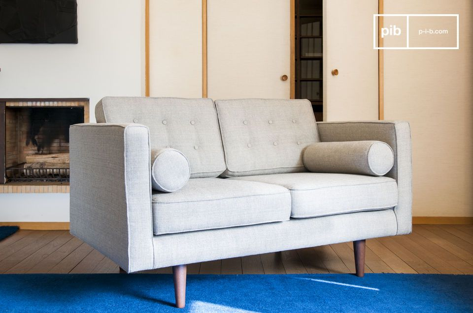 The Silkeborg sofa will pair perfectly with an armchair from the same collection and a wooden