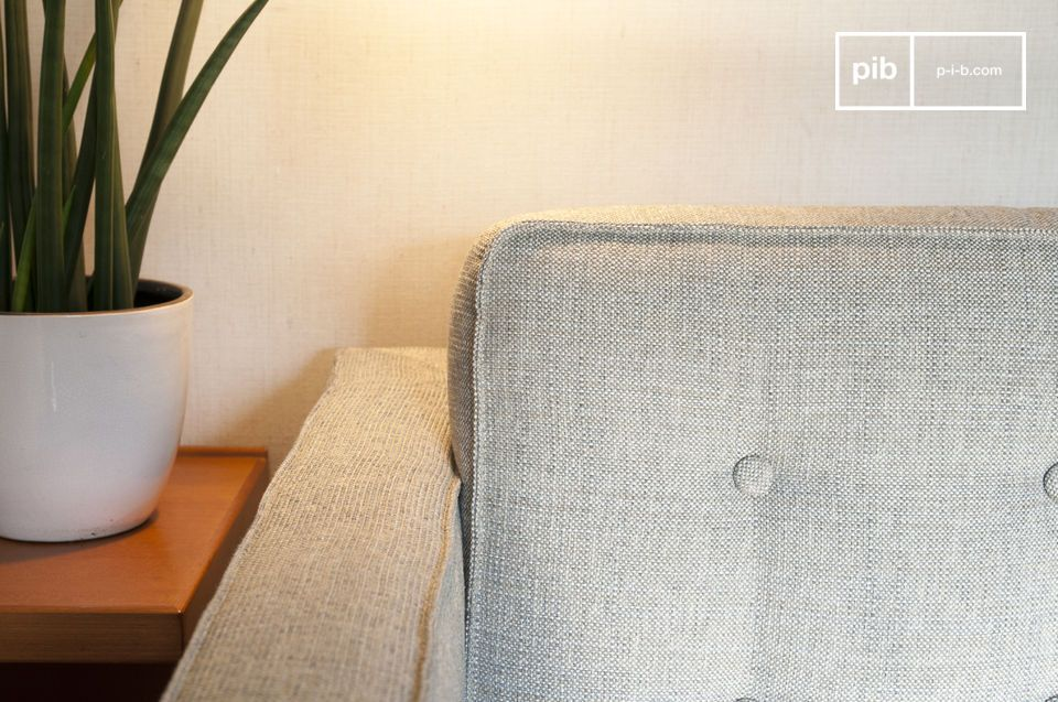 Observe how this Scandinavian sofa will quickly become your favorite part of the living room